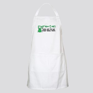 Frogs Have It Easy BBQ Apron